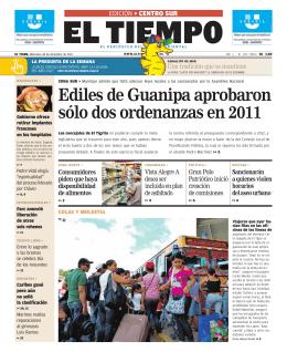 Ediles de Guanipa aprobaron sólo dos ordenanzas en