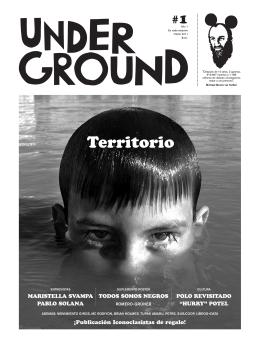 Revista Underground #01 – Otoño 2011