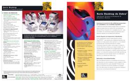 Serie Desktop de Zebra® - Logismarket, el Directorio Industrial