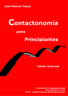 Contactonomia para Principiantes