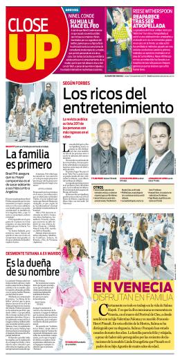 EN VENECIA - El Diario de Coahuila