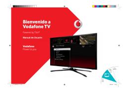 Bienvenido a Vodafone TV