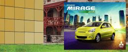 -MIRAGE 2015 - Mitsubishi Motors México