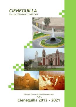 PLAN CIENEGUILLA - Municipalidad de Cieneguilla