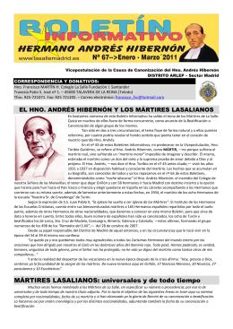 MÁRTIRES LASALIANOS - La Salle