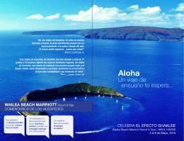 Viaje de Incentivo 2015 a Hawaii