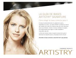 Guía de Base Artistry Distintiva