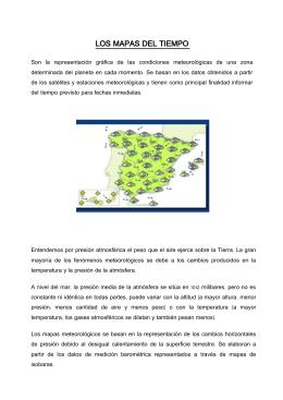 LOS MAPAS DEL TIEMPO
