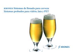 Krones Sistemas de llenado para cerveza Sistemas probados para