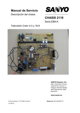 Manual de Servicio CHASIS 2119