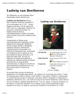 (Ludwig van Beethoven - Wikipedia, la