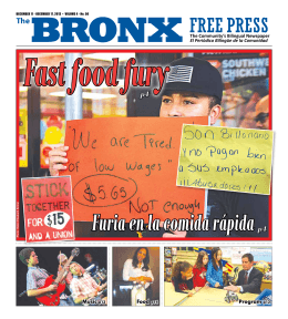 Fast food fury - The Bronx Free Press