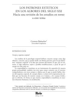 here - Reis - Revista Española de Investigaciones Sociológicas