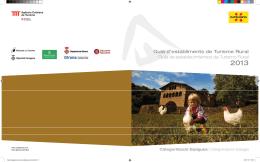 Guia d`establiments de Turisme Rural Guía de establecimientos de