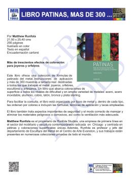 LIBRO PATINAS, MAS DE 300