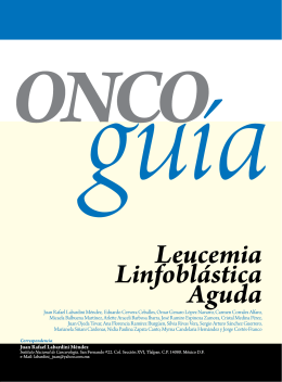 leucemia bifenotípica - Instituto Nacional de Cancerología