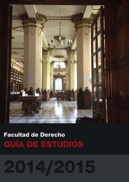 Guía de la Facultad de Derecho 2014-2015