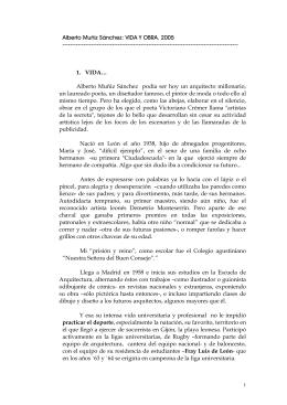Alberto Muñiz Sánchez: VIDA Y OBRA. 2005