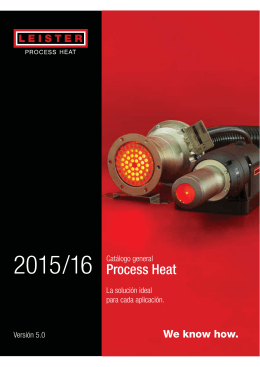 GC - Catálogo general Process Heat