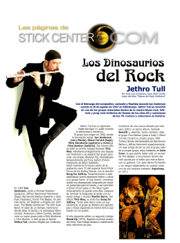 Jethro Tull - Stick Center