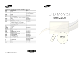 LFD Monitor