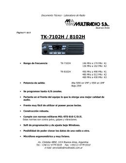 TK-7102H / 8102H