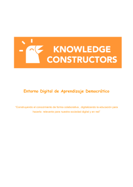 EDAD - Knowledge Constructors