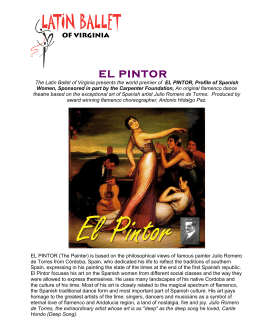 EL PINTOR - Latin Ballet of Virginia
