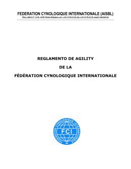 Reglamento FCI - Kennel Club de Chile