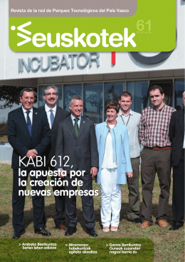 KABI 612, KABI 612, - Red de Parques Tecnológicos de Euskadi