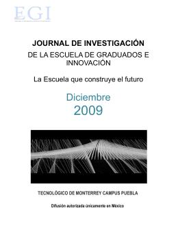 Journal diciembre 2009 - Campus Puebla