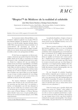 de Médicos: de la realidad al celuloide