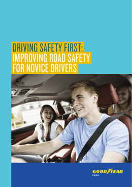 driving safety first: improving road safety for novice drivers