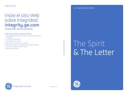 The Spirit & The Letter