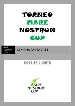 Dossier semana Santa 2014 CADETE