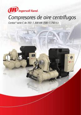 Compresores de aire centrífugos