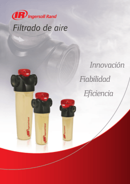 Filtros… - Ingersoll Rand
