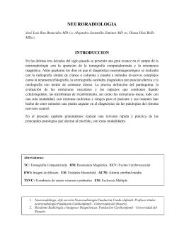 Neuroradiólogo - Universidad del Rosario