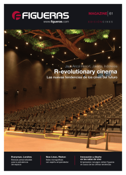 R-evolutionary cinema - Figueras International Seating