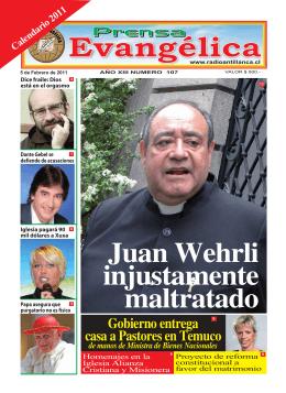 Gobierno entrega casa a Pastores en Temuco
