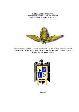 fuerza aérea argentina direccion general de educacion instituto de