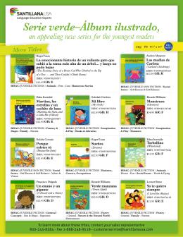 Serie verde–Álbum ilustrado,