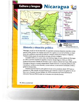 Cultura y lengua Nicaragua tk]