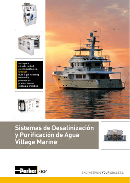 Sistemas de Desalinización y Purificación de Agua Village Marine