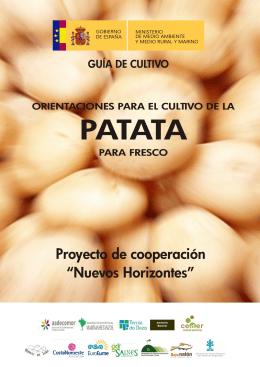 Guía del cultivo de la patata