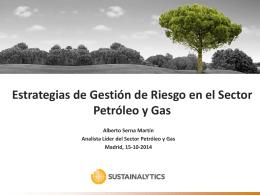 Estrategias de Gestión de Riesgo en el Sector Petróleo y Gas