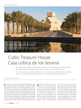 Cubic Treasure House Casa cúbica de los tesoros