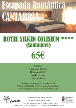 HOTEL SILKEN COLISEUM ****