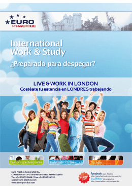 LIVE & WORK IN LONDON