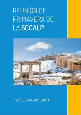 Reunión de PRimaveRa de la SCCALP